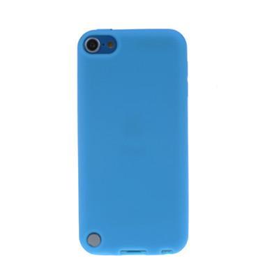 Голубой силиконовый чехол для iPod Touch 5G/6G