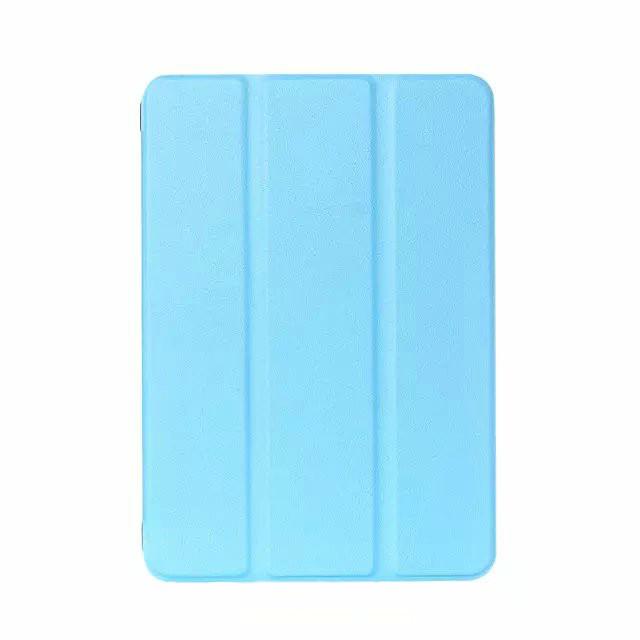 Кожаный чехол SmartLeather + TPU для iPad mini 4 Голубой