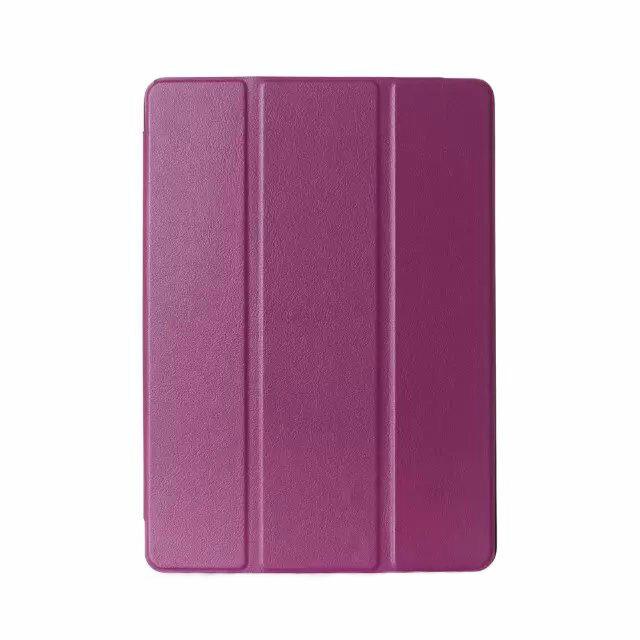 Кожаный чехол SmartLeather + TPU для iPad mini 4 Фиолетовый