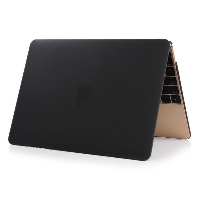 """Черный пластиковый чехол Soft Touch для MacBook Air 11"""""""