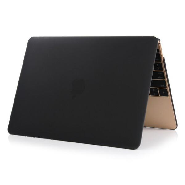 """Черный пластиковый чехол iLoungeMax Soft Touch для MacBook Air 11"""""""