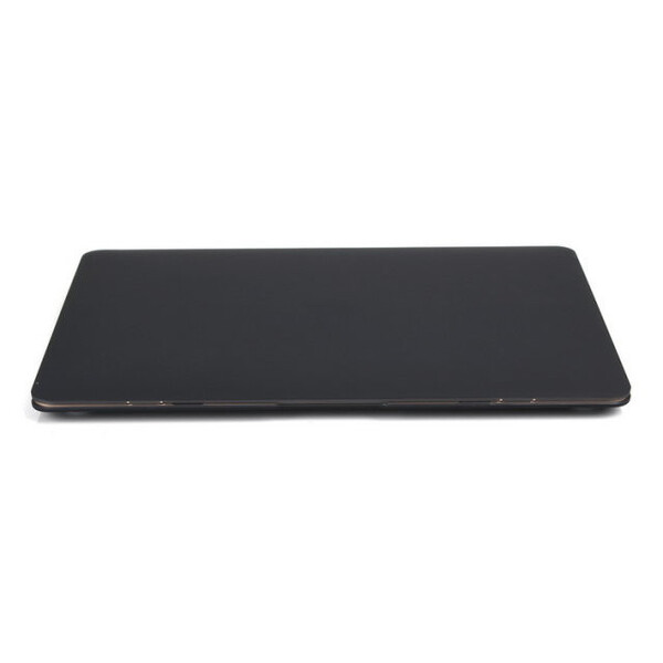 """Черный пластиковый чехол iLoungeMax Soft Touch для MacBook Air 13"""" (2009-2017)"""