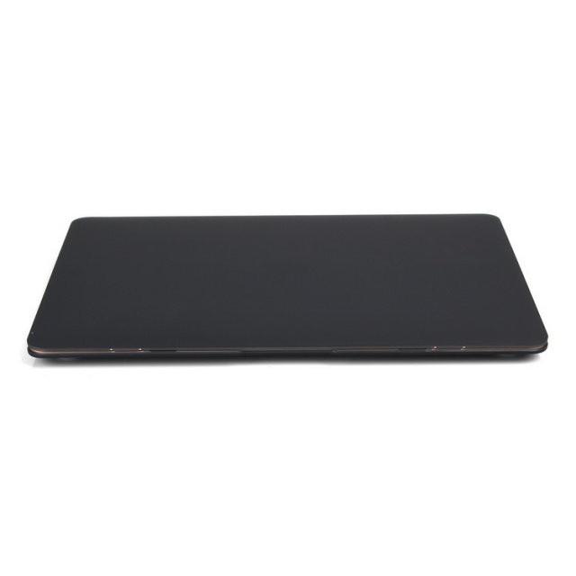 """Черный пластиковый чехол Soft Touch для MacBook Air 13"""""""