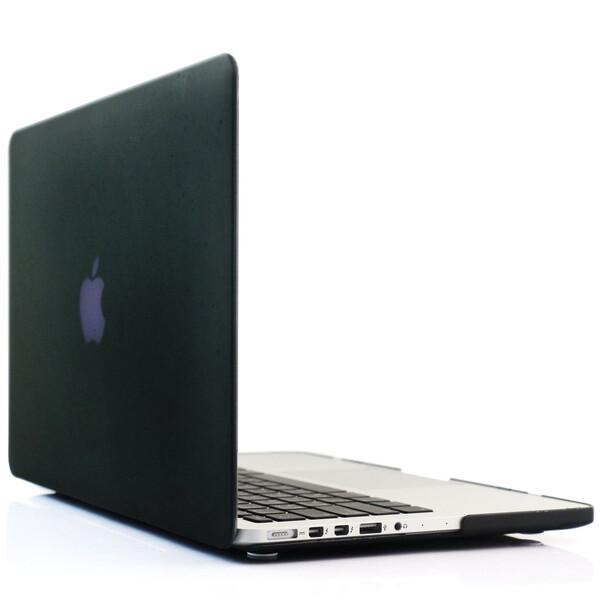 """Черный пластиковый чехол iLoungeMax Soft Touch для MacBook Pro 15"""" Retina"""