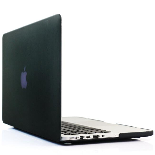 """Черный пластиковый чехол Soft Touch для MacBook Pro 15"""" Retina"""