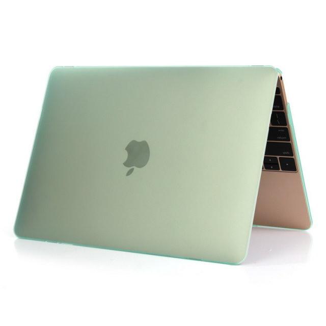 """Салатовый пластиковый чехол Soft Touch для MacBook Air 11"""""""