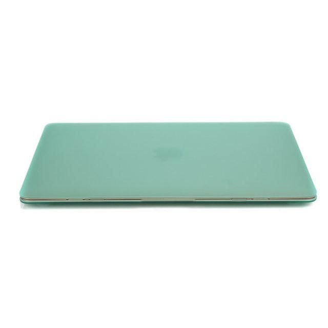 """Салатовый пластиковый чехол Soft Touch для MacBook Air 13"""""""