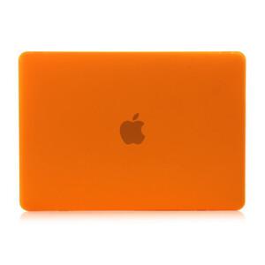 """Купить Оранжевый пластиковый чехол Soft Touch для MacBook 12"""""""