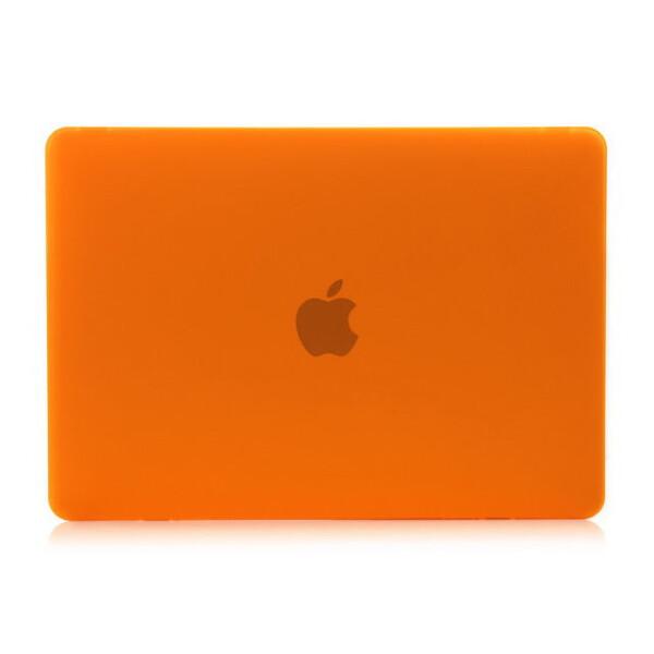 """Оранжевый пластиковый чехол iLoungeMax Soft Touch для MacBook Pro 13"""" Retina"""