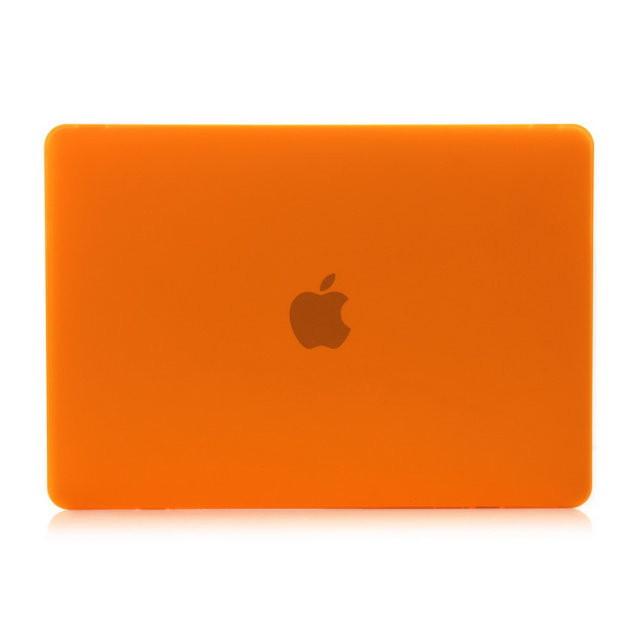 """Оранжевый пластиковый чехол Soft Touch для MacBook Pro 13"""" Retina"""