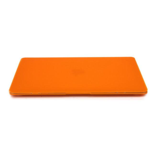 """Оранжевый пластиковый чехол Soft Touch для MacBook Air 13"""""""