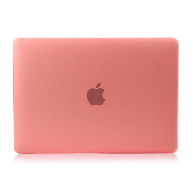 """Розовый пластиковый чехол Soft Touch для MacBook 12"""""""