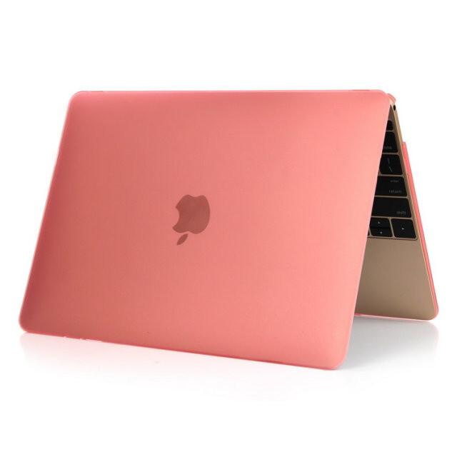 "Розовый пластиковый чехол Soft Touch для MacBook Air 11"""