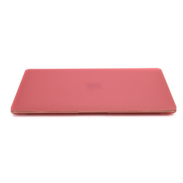 "Розовый пластиковый чехол Soft Touch для MacBook Air 13"""