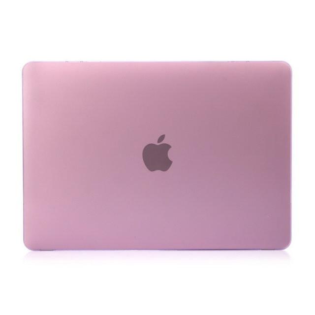 """Фиолетовый пластиковый чехол Soft Touch для MacBook Pro 13"""" Retina"""