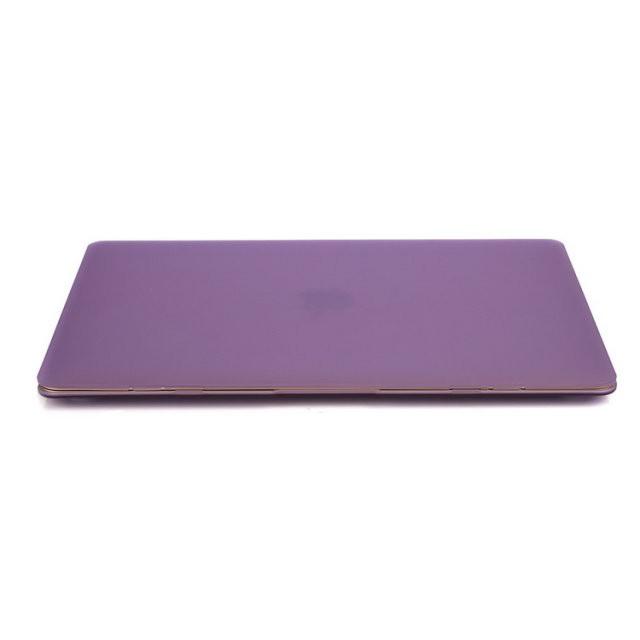 """Фиолетовый пластиковый чехол Soft Touch для MacBook Air 13"""""""