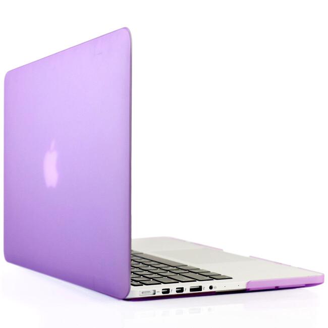 """Фиолетовый пластиковый чехол Soft Touch для MacBook Pro 15"""" Retina"""