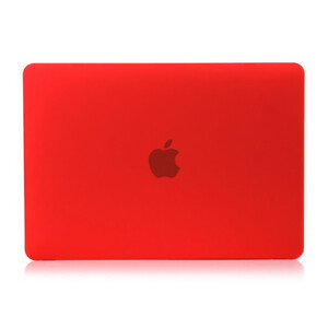 """Купить Красный пластиковый чехол Soft Touch для MacBook 12"""""""