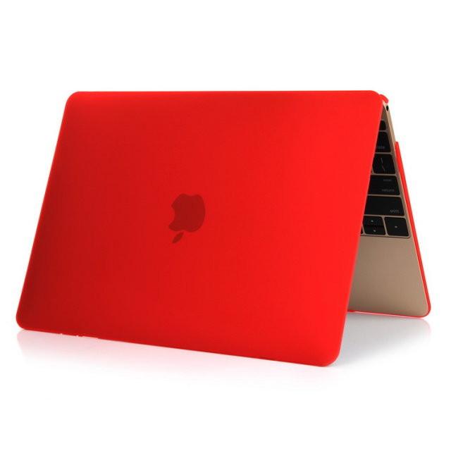 """Красный пластиковый чехол Soft Touch для MacBook Air 11"""""""