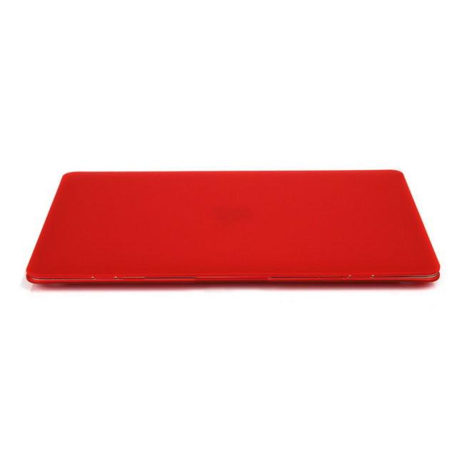"""Красный пластиковый чехол Soft Touch для MacBook Air 13"""""""