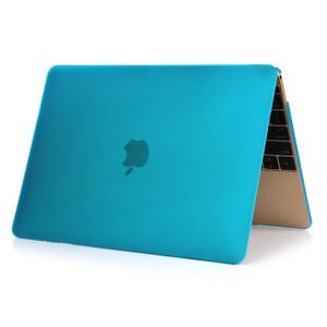 """Купить Синий пластиковый чехол Soft Touch для MacBook Air 11"""""""