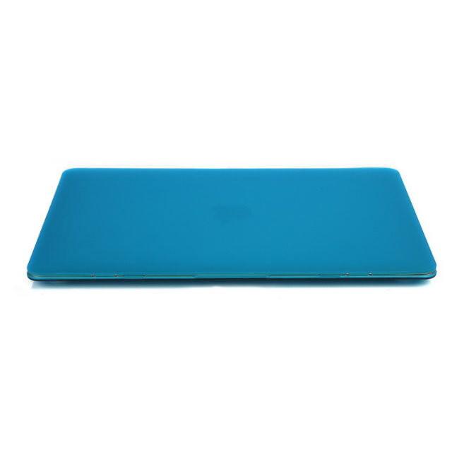 """Синий пластиковый чехол Soft Touch для MacBook Air 13"""""""