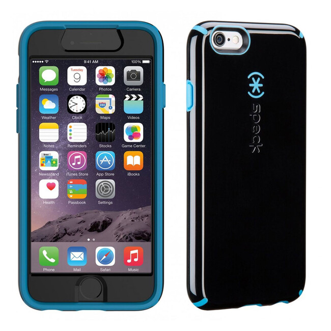 Чехол Speck CandyShell + Faceplate Black/Jay Blue для iPhone 6/6s