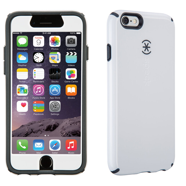 Чехол Speck CandyShell + Faceplate White для iPhone 6/6s