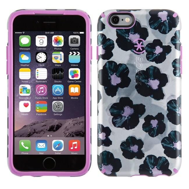 Чехол Speck CandyShell Inked Luxury Edition Platinum Posies для iPhone 6/6s