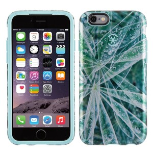 Купить Чехол Speck CandyShell Inked Luxury Edition Silver Leaves для iPhone 6/6s