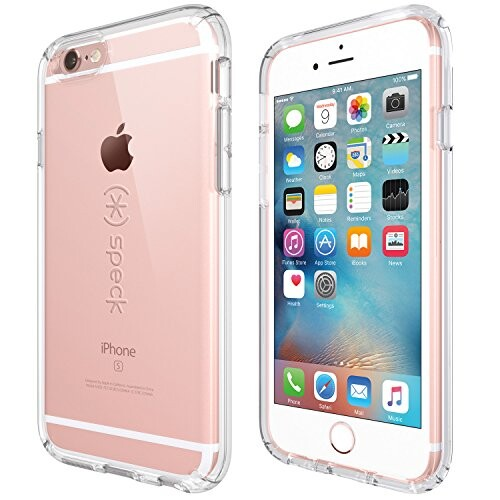 Прозрачный чехол Speck CandyShell Clear для iPhone 6/6s