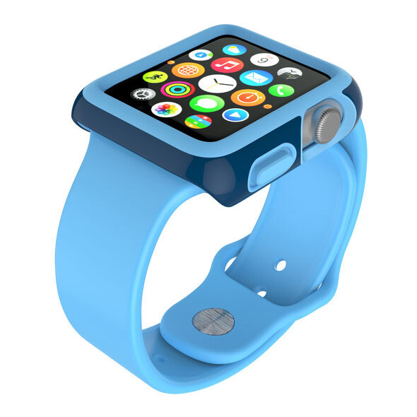 Чехол Speck CandyShell Fit Deep Sea Blue для Apple Watch Series 1 & 2 38mm