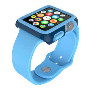 Купить Чехол Speck CandyShell Fit Deep Sea Blue для Apple Watch Series 1/2/3 42mm