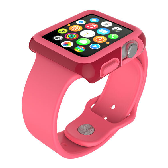 Чехол Speck CandyShell Fit Crimson Red для Apple Watch Series 1/2/3 38mm