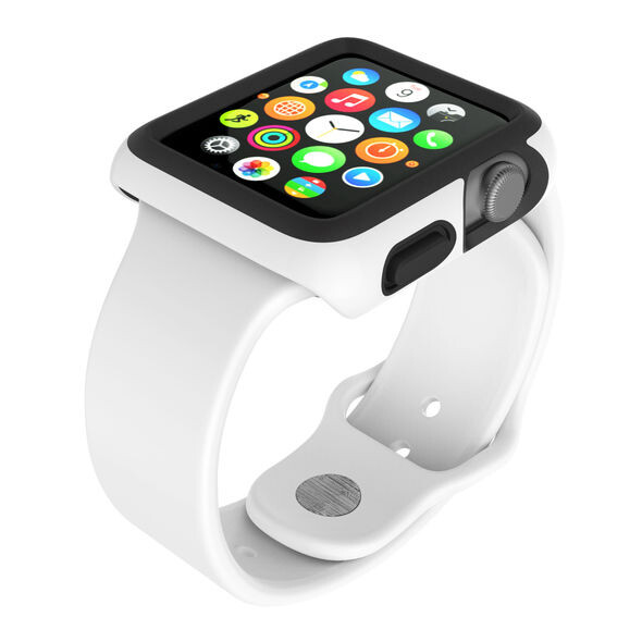 Чехол Speck CandyShell Fit White для Apple Watch Series 1/2/3 38mm