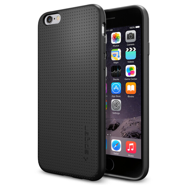 Чехол Spigen Capsule Black для iPhone 6/6s