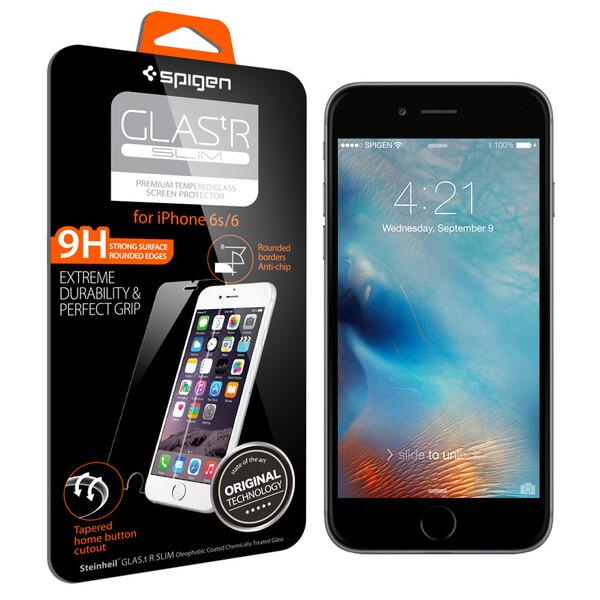 Защитное стекло Spigen GLAS.tR SLIM для iPhone 6 | 6s