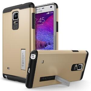 Купить Чехол Spigen Slim Armor Champagne Gold для Samsung Galaxy Note 4
