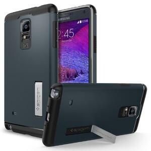 Купить Чехол Spigen Slim Armor Metal Slate для Samsung Galaxy Note 4