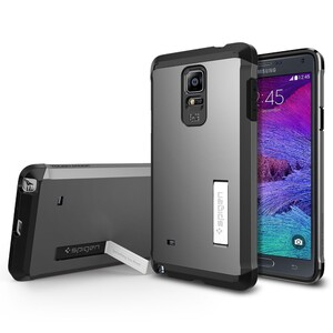 Купить Чехол Spigen Tough Armor Gunmetal для Samsung Galaxy Note 4