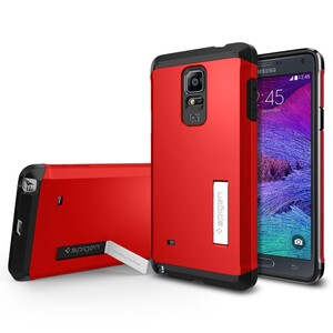 Купить Чехол Spigen Tough Armor Electric Red для Samsung Galaxy Note 4