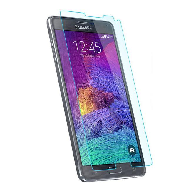 Защитная пленка Spigen Crystal для Samsung Galaxy Note 4