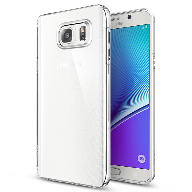 Чехол Spigen Liquid Crystal для Samsung Galaxy Note 5