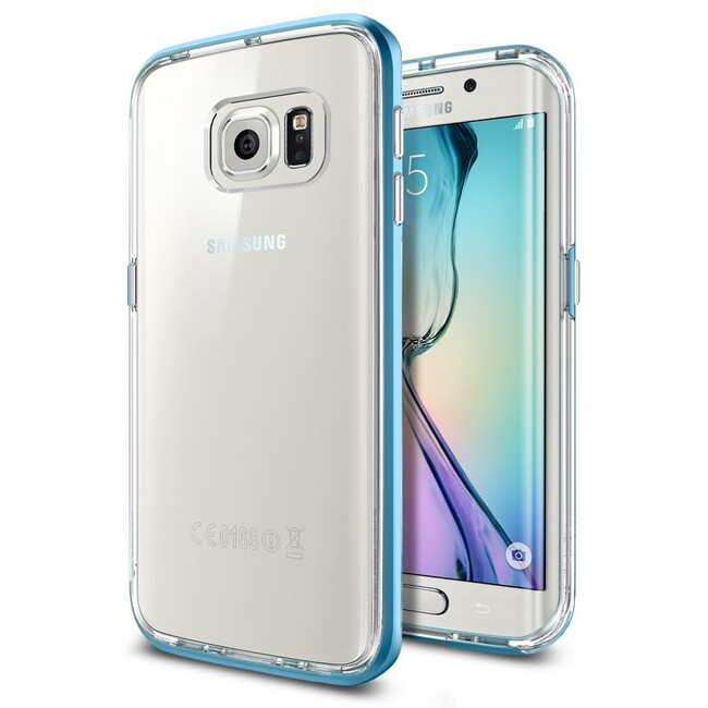 Чехол Spigen Neo Hybrid CC Blue Topaz для Samsung Galaxy S6 Edge