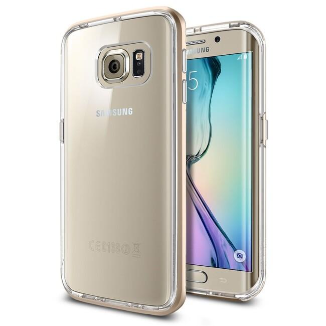 Чехол Spigen Neo Hybrid CC Champagne Gold для Samsung Galaxy S6 Edge