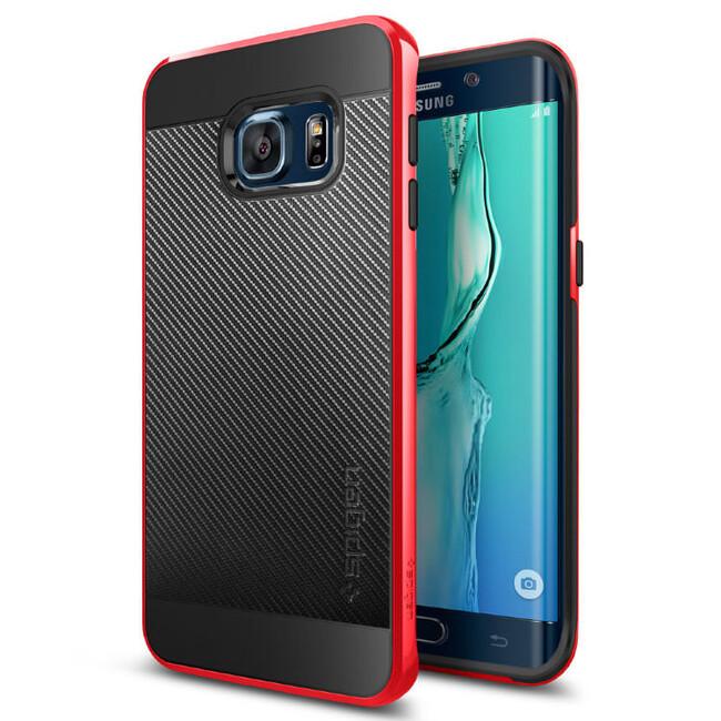 Чехол Spigen Neo Hybrid Carbon Dante Red для Samsung Galaxy S6 Edge+