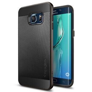 Купить Чехол Spigen Neo Hybrid Carbon Gunmetal для Samsung Galaxy S6 Edge+