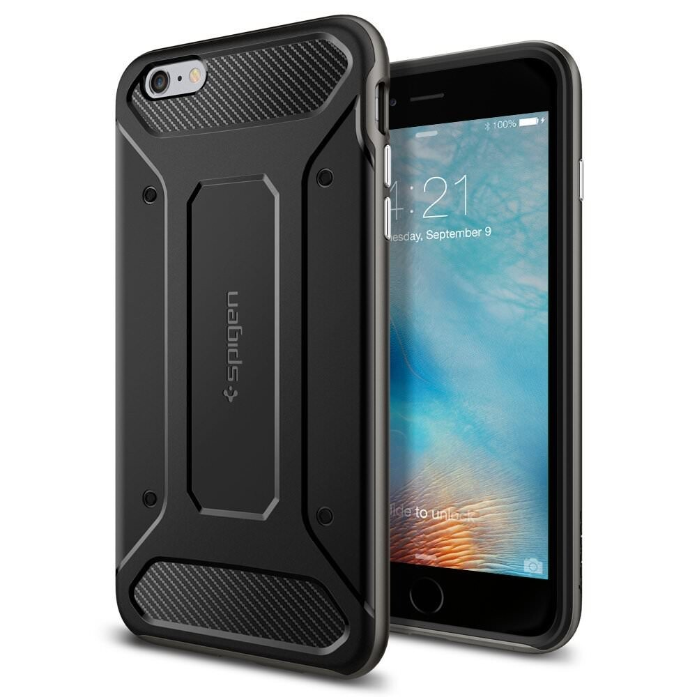 Чехол Spigen Neo Hybrid Carbon Gunmetal для iPhone 6 Plus/6s Plus