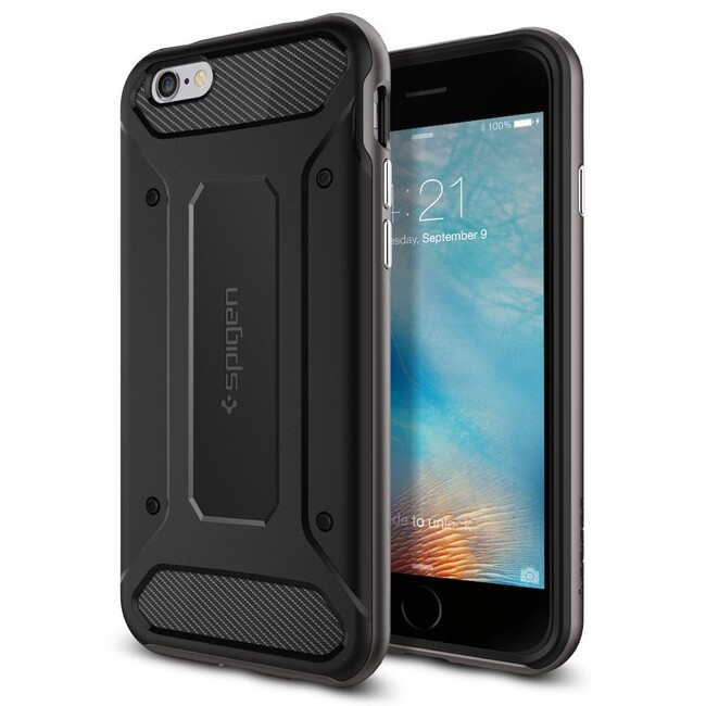Чехол Spigen Neo Hybrid Carbon Gunmetal для iPhone 6/6s