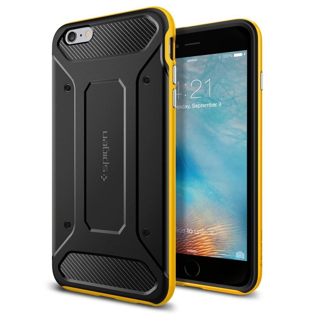 Чехол Spigen Neo Hybrid Carbon Reventon Yellow для iPhone 6 Plus/6s Plus